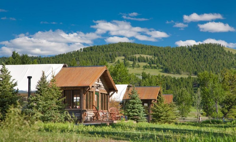 glamping montana rockcreek1 800x480 - Ranch at Rock Creek: Glamping in big sky country