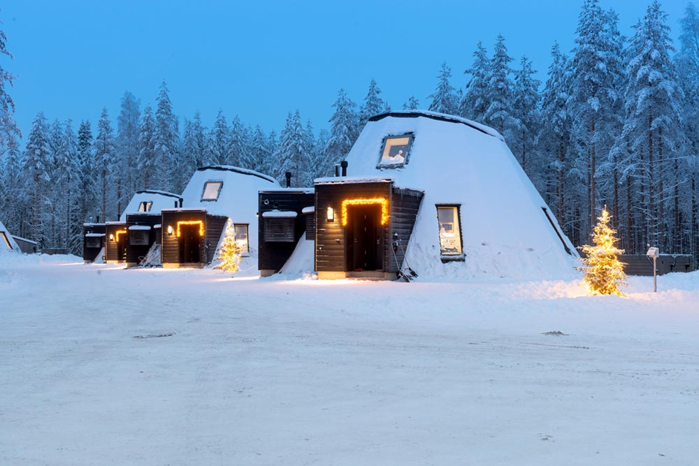 glass boutique hotel lapland - Rovaniemi Glass Resort