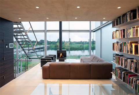The Rieteiland House: a gorgeous architect's home