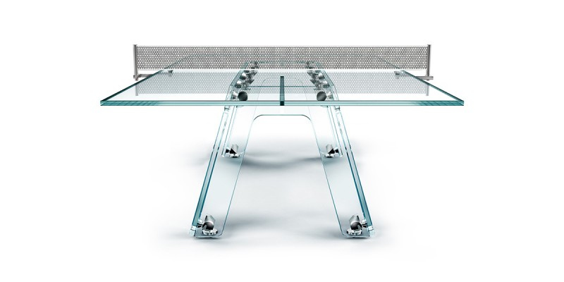 glass ping pong table ad3 800x400 - Lungolinea Ping Pong Table
