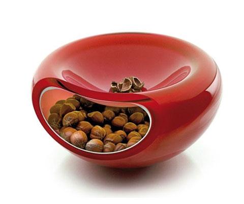 glass serving bowl evasolo 2 - Big smiley bowl: design smiles at function