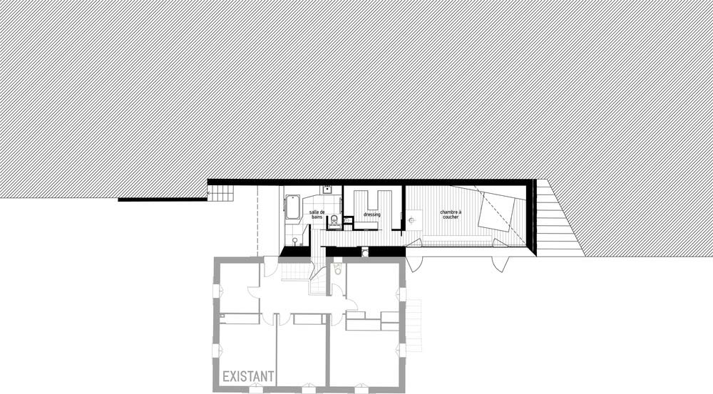 glass stone home extension ema - SPE House