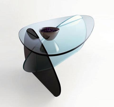 glass table karim rashid 3 - Kat: optical illusions at your service