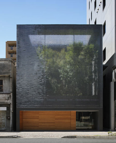 Glass Optical House An Urban Oasis Japanese Architecture