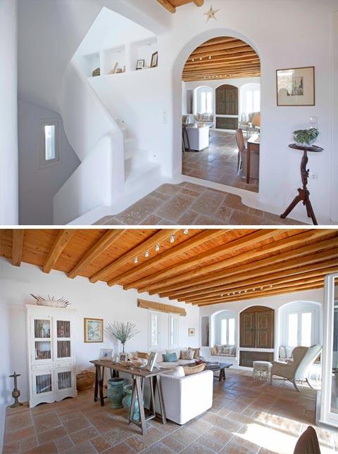Dreams Of Greece A Seaside Home Beautiful Interiors