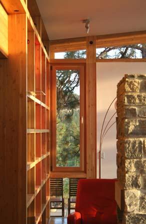 green bc house nesbitt6 - Nesbitt House: Structure and Nature Combined