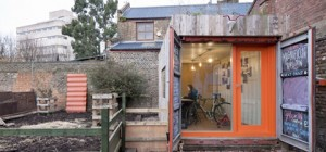 green container studio mhq4 300x140 - Magnificent HQ: A Green Shipping Container Studio