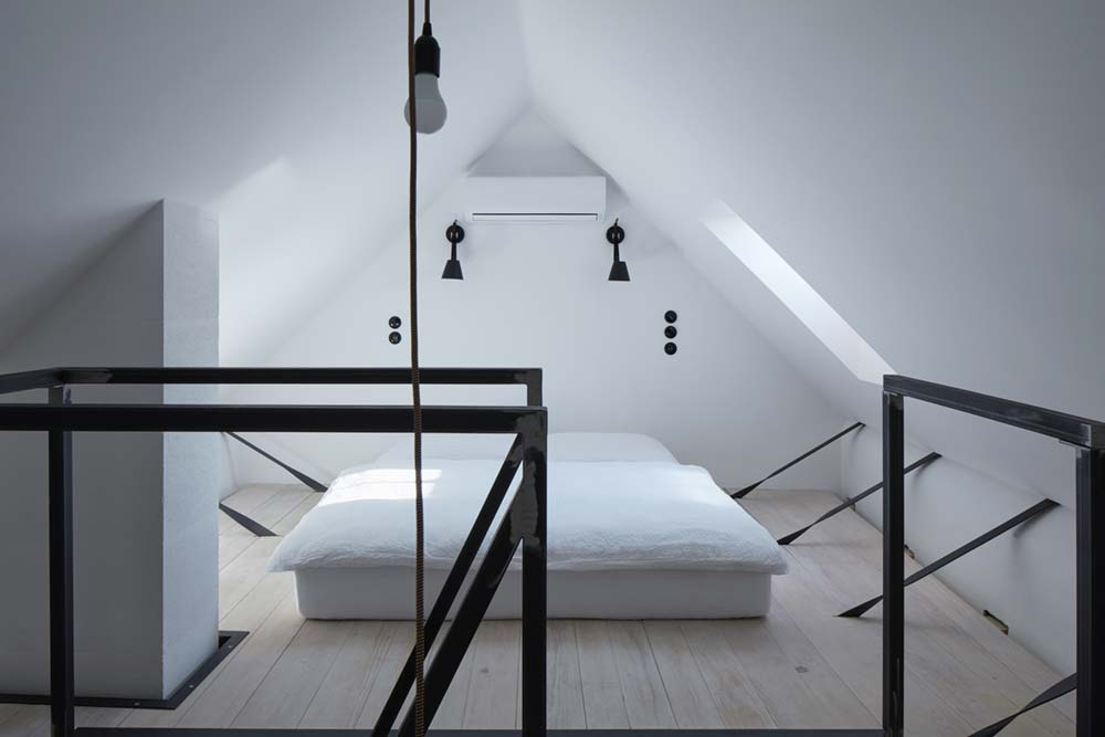 guesthouse renovation bedroom design 2 - Stajnhaus
