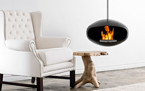 hanging fireplace cocoon a4 - Cocoon Aeris Hanging Fireplace: An Old Flame