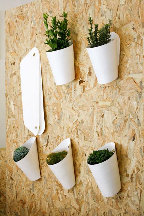 Wall Hanging Baskets opot hanging pots: hanging garden - art & decor, garden & patio