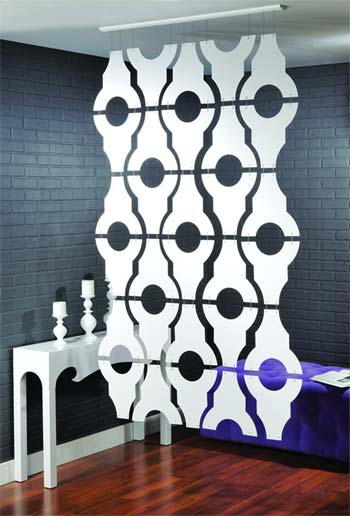 hanging room divider linea2 - Hanging room divider Sotto