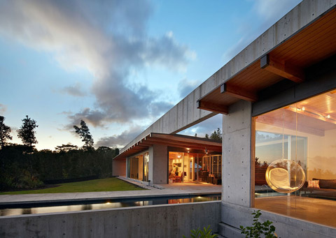 Lavaflow 7 Concrete Timber And Volcanoes Modern Architecture