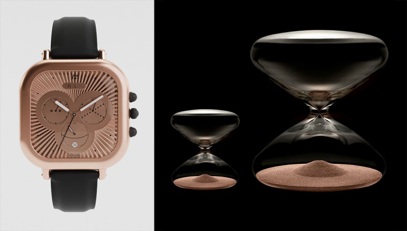 hayon newson watch 800x454 - Jaime Hayon & Marc Newson timepieces at Salon QP