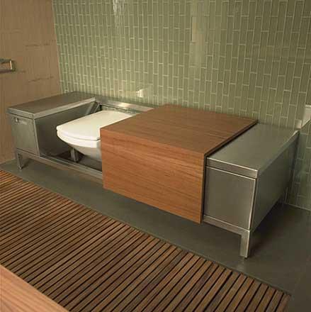 Hidden Kitchen Amp Bathroom Bathroom Design Kitchen Design