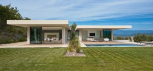 hillside country house design pool 300x140 - MaisonP Residence