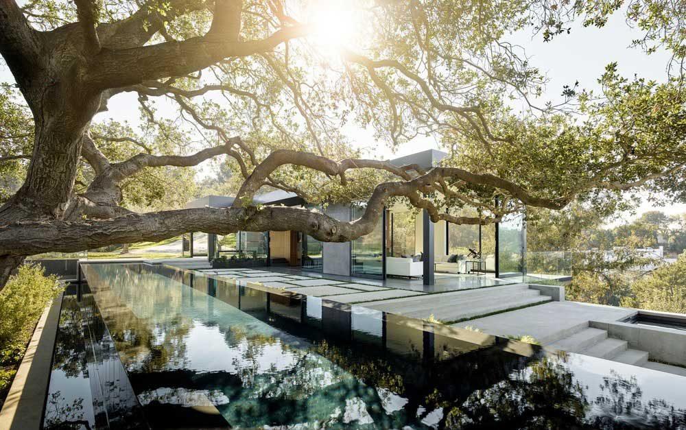 Hillside Home Design Ww 1000x627   Oak Pass House