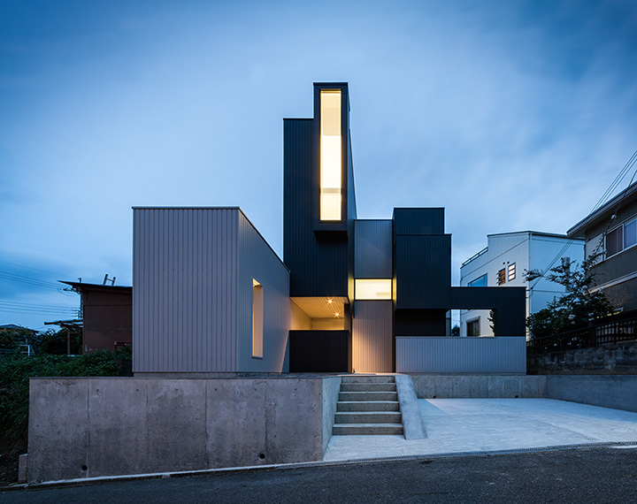 Scape house japanese architecture small houses for I house architecture