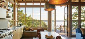 hillside stone home kitchen design hp2 300x140 - Hillside Sanctuary