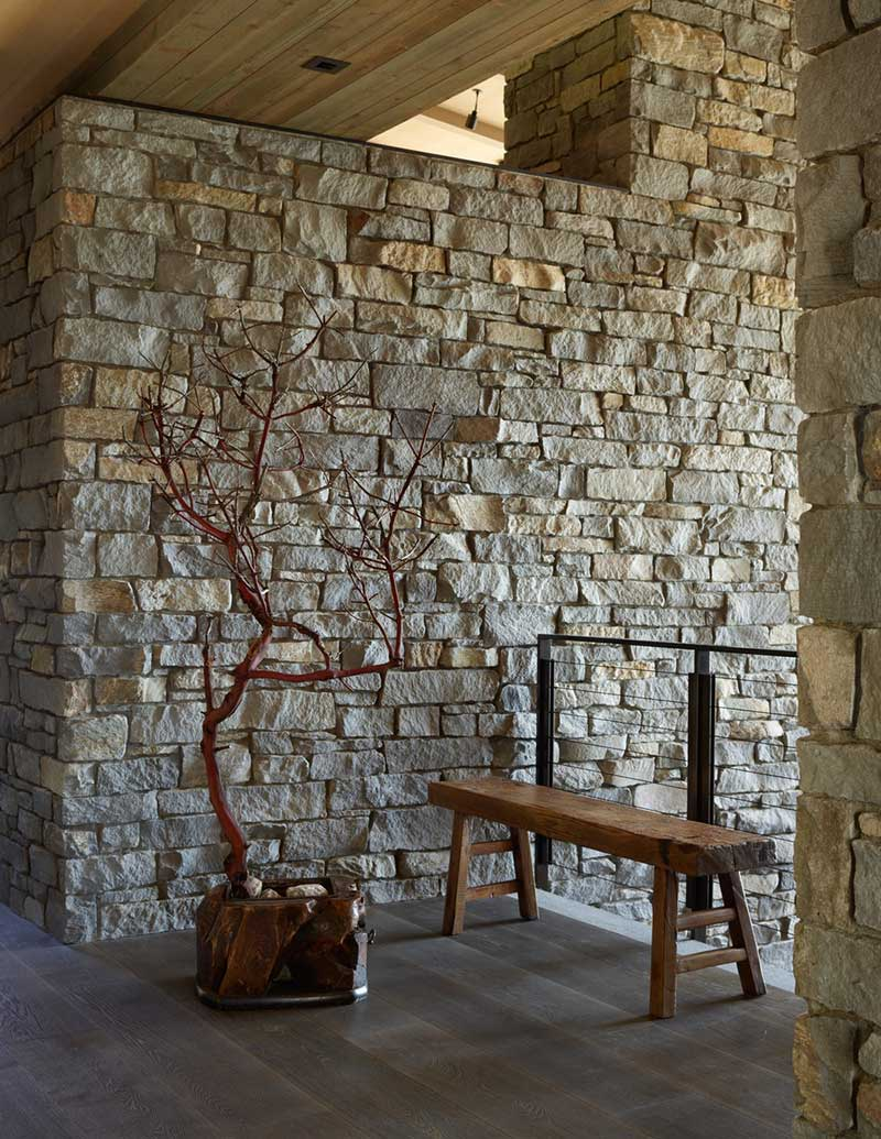 hillside stone wall design hp - Hillside Sanctuary