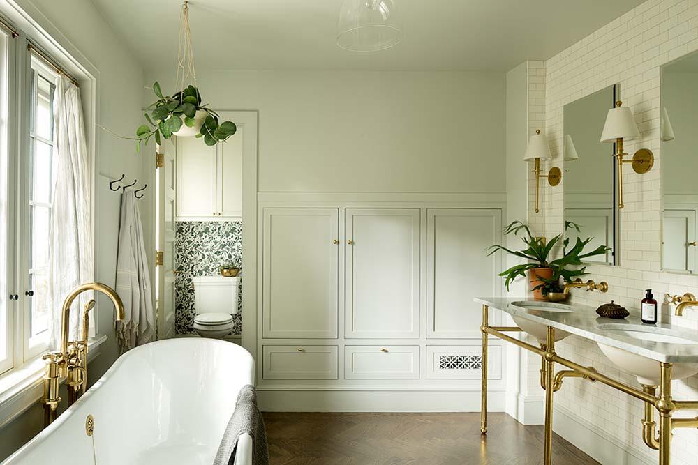 Historic bathroom design