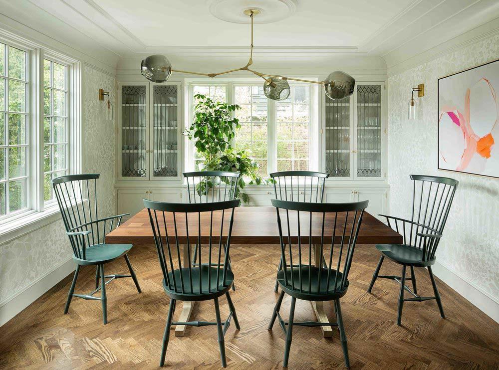 Historic dining room design