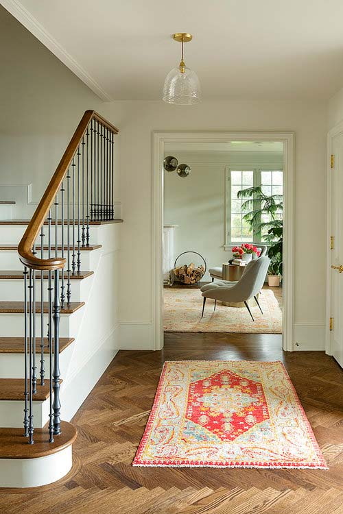 historic wooden staircase design