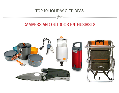 Top 10 Holiday Gift Ideas For Campers And Outdoor Enthusiasts