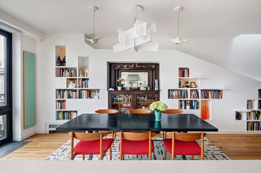 home design dining room bfdo - House for Booklovers and Cats