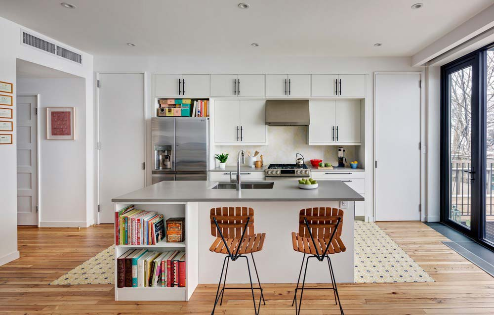 home design kitchen bfdo - House for Booklovers and Cats
