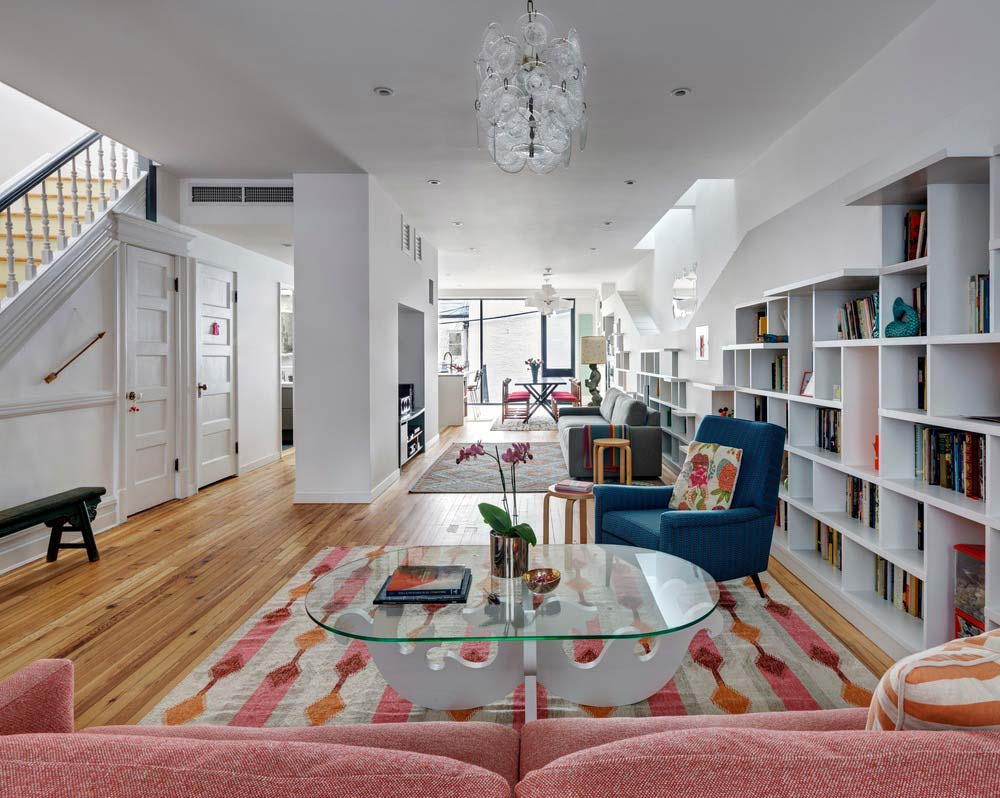 home design open space bfdo - House for Booklovers and Cats