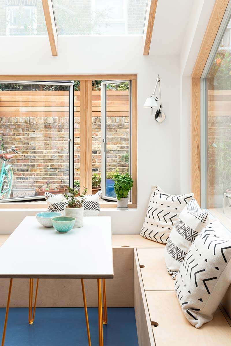 home extension dining design ph2 - Oliphant St. Extension