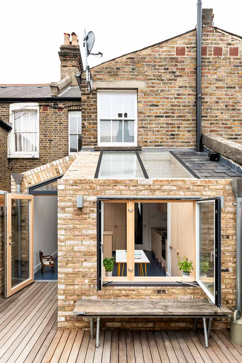 home extension exterior design ph - Oliphant St. Extension