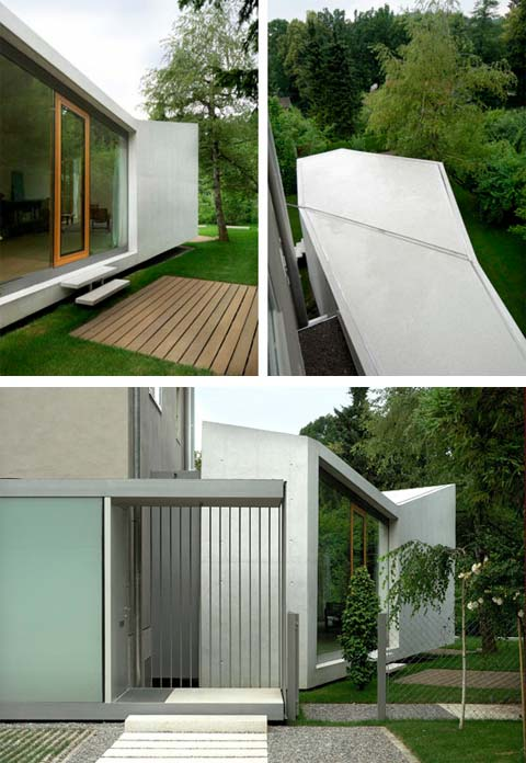 home extension house h7 - House H: Living Space as an Annexe