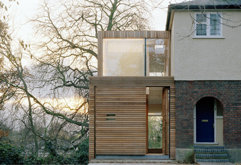 Slat House Extension Out Of The Box Home Extensions