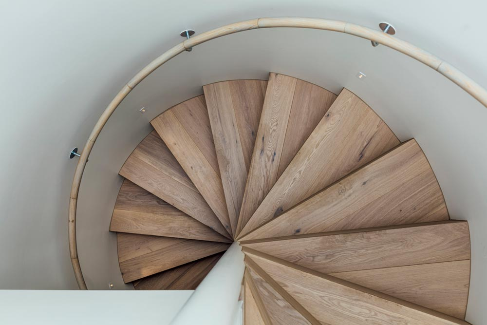 home extension spiral staircase design ppa - Armadale 4