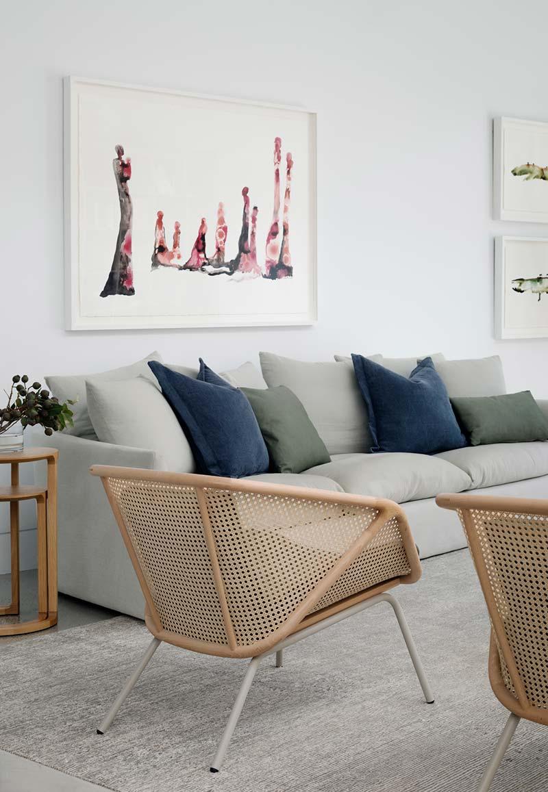 home interior living design lot1 - Headland House