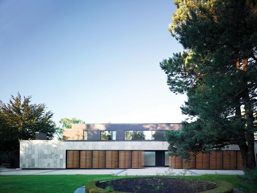 home interiors facade design prs - Echo House