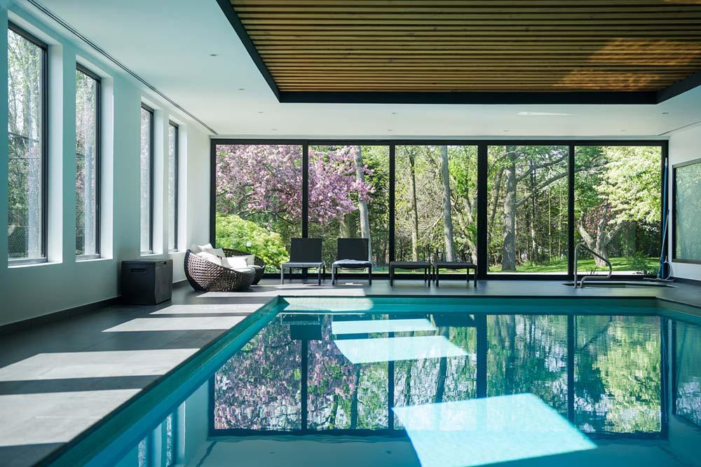 home interiors indoor pool design prs - Echo House