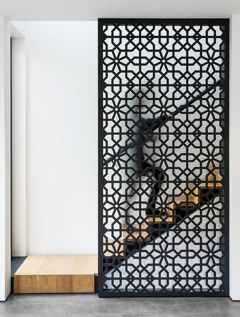 home interiors stairs screen design prs - Echo House