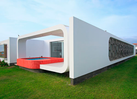 House In Palabritas Beach A Tribute To The 60 39 S Modern Architecture