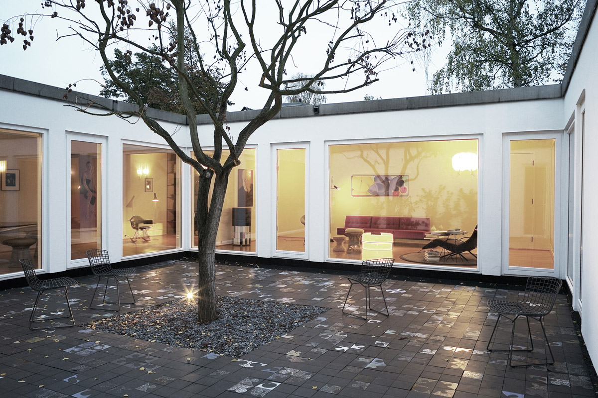 100 homes with interior courtyards sacmodern com