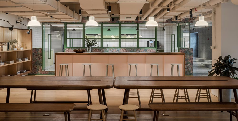 housing co op dining design aim - Cohost West Bund