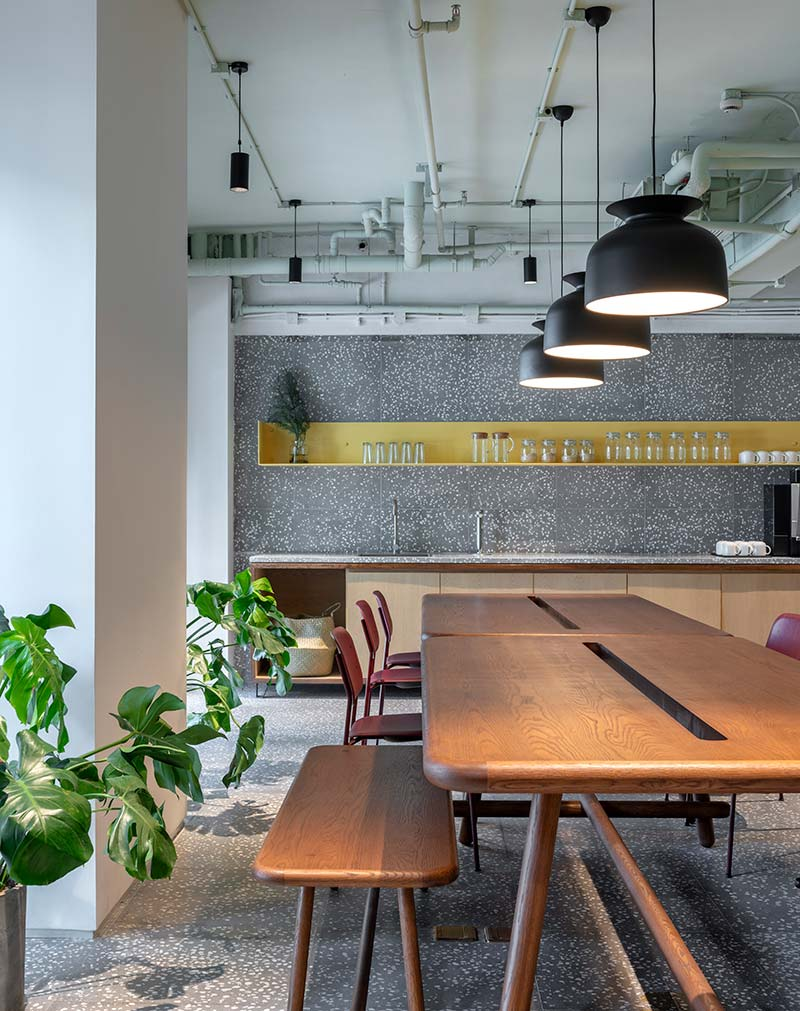 housing co op kitchen design aim - Cohost West Bund