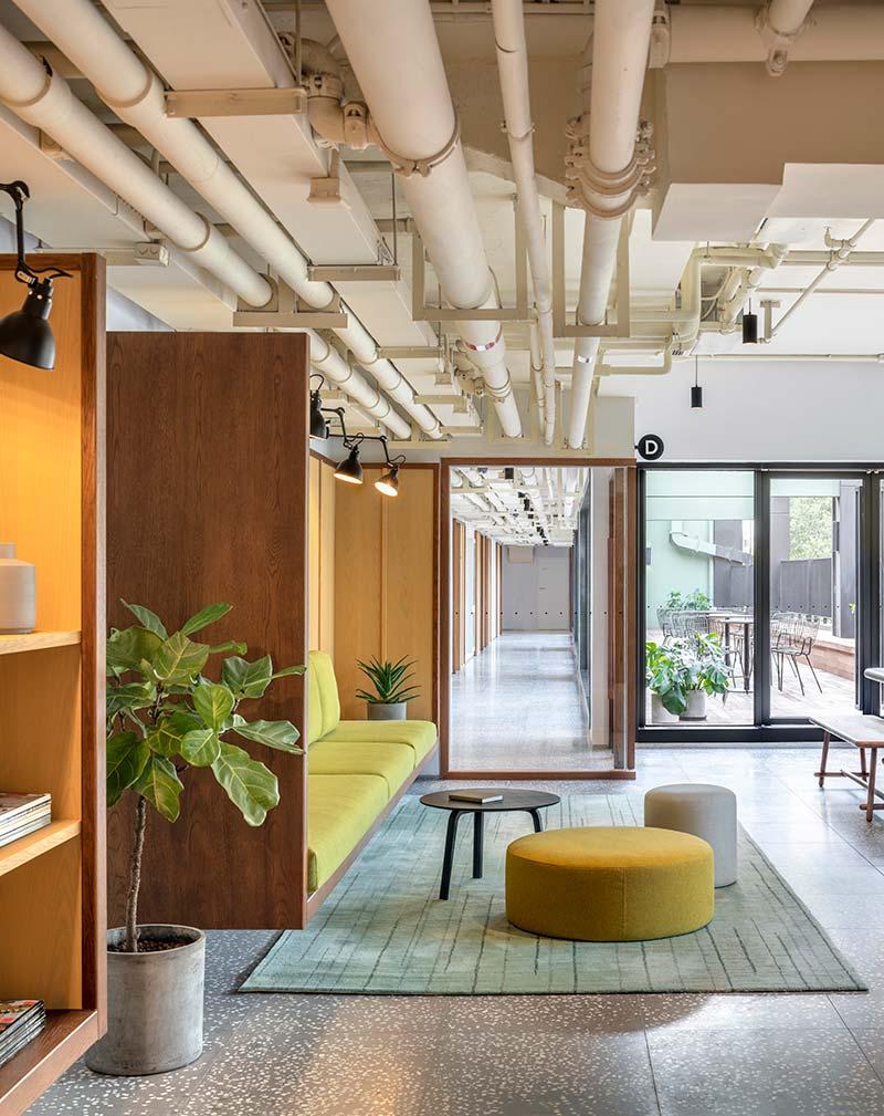 housing co op lounge design aim - Cohost West Bund