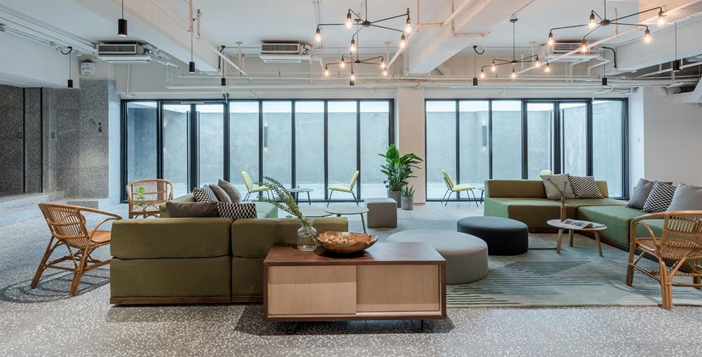 housing co op lounge design aim4 - Cohost West Bund