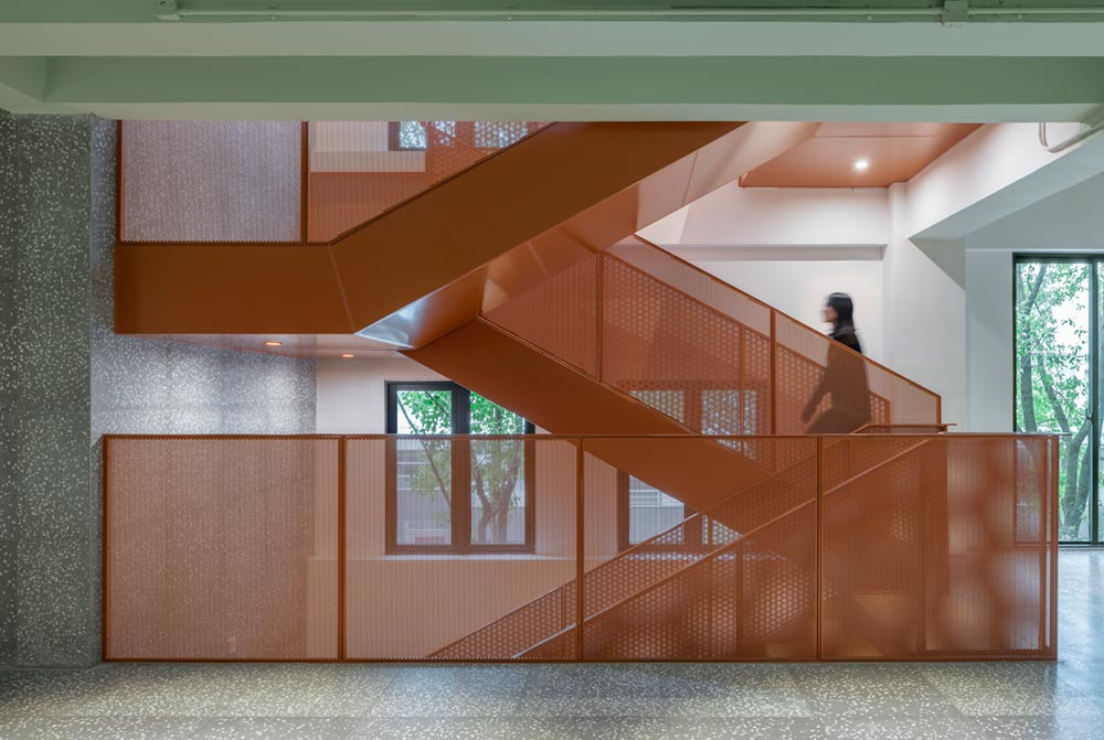 housing co op stairs design aim - Cohost West Bund