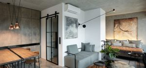 industrial chic loft design prague 300x140 - Loft Hrebenky Prague
