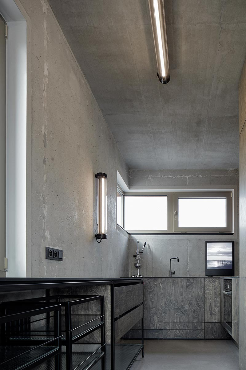 Industrial chic loft design w/ polished concrete & rustic wood