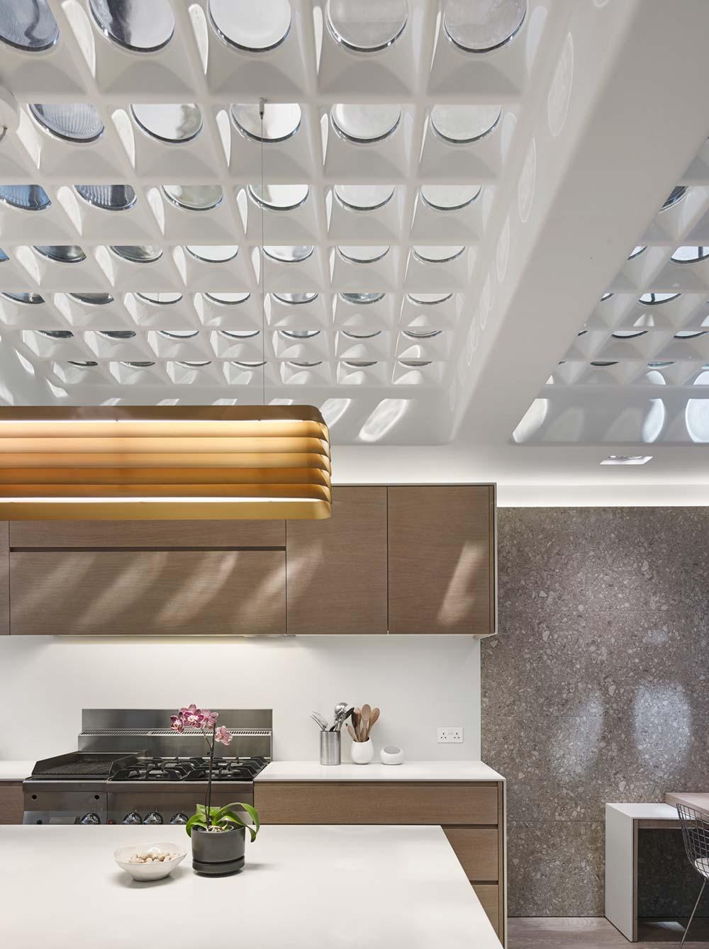Industrial interior kitchen design