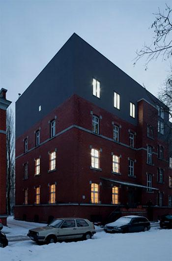 industrial loft design berlin 7 - Loft Design in Berlin: concrete chic